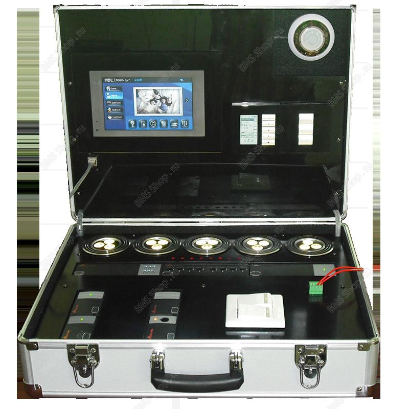HDL демонстрационый чемодан с сенсорной панелью