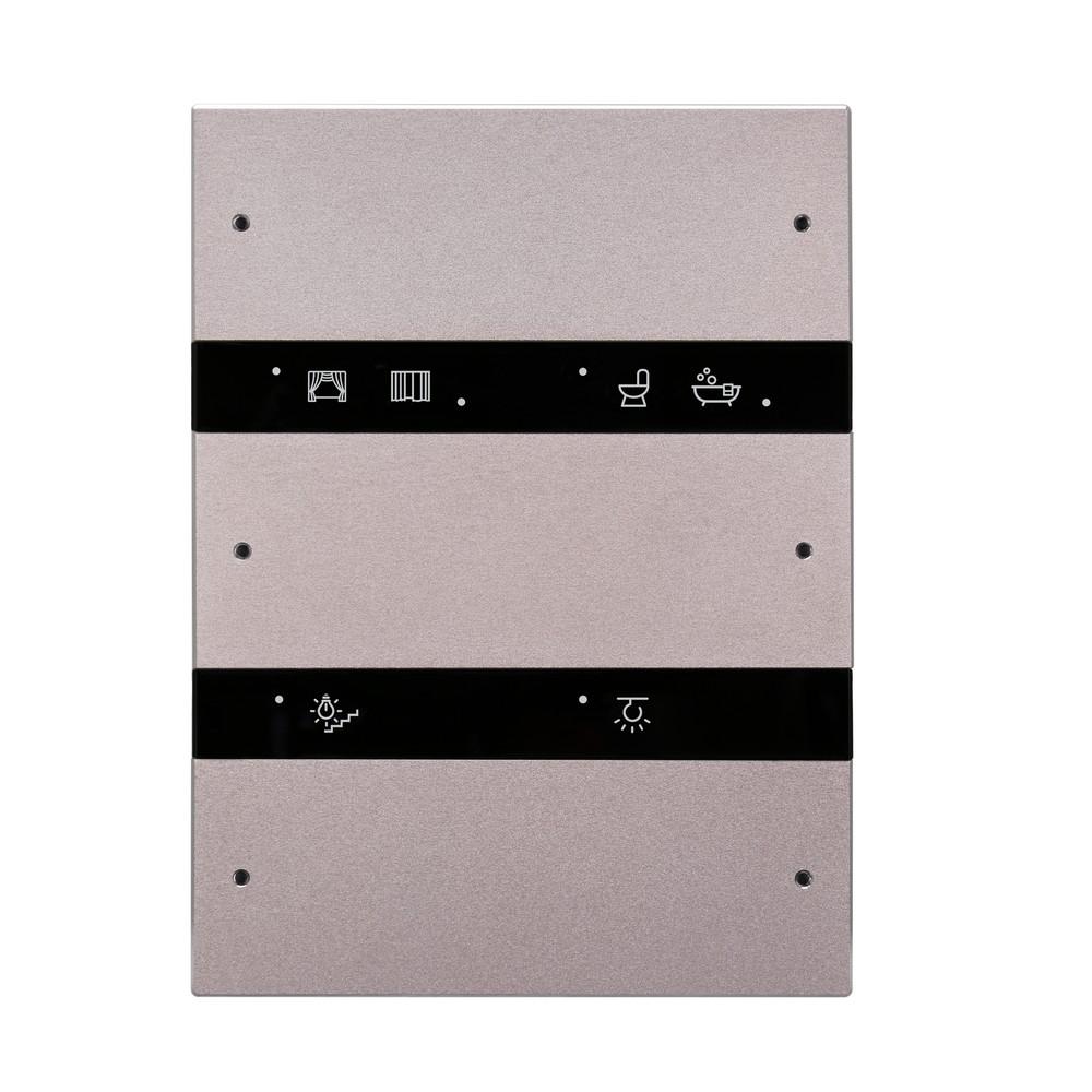 6-клавишная панель Granite, US стандарт, розовое золото