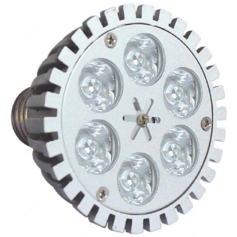 HDL 6X1W LED цокольная лампа для внутреннего использования