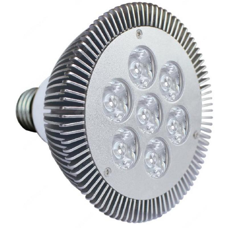 HDL 7X1W LED цокольная лампа для внутреннего использования