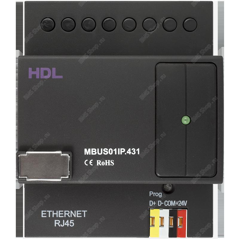 Новый шлюз для программирования системы HDL-BUS Pro и удаленного доступа в шину