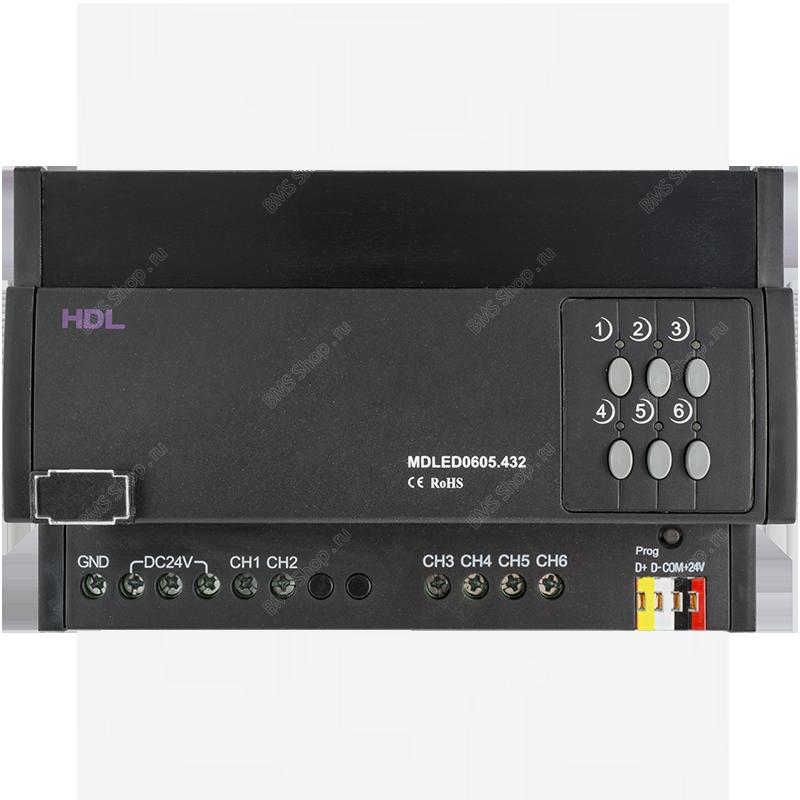 LED диммер 6 каналов 5А на канал