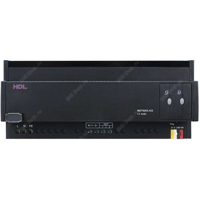 Новый Универсальный диммер на DIN рейку, 2 канала по 3А