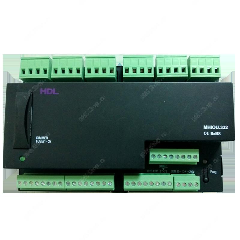Универсальный микс контроллер для гостиничных проектов и типовых квартир на DIN рейку