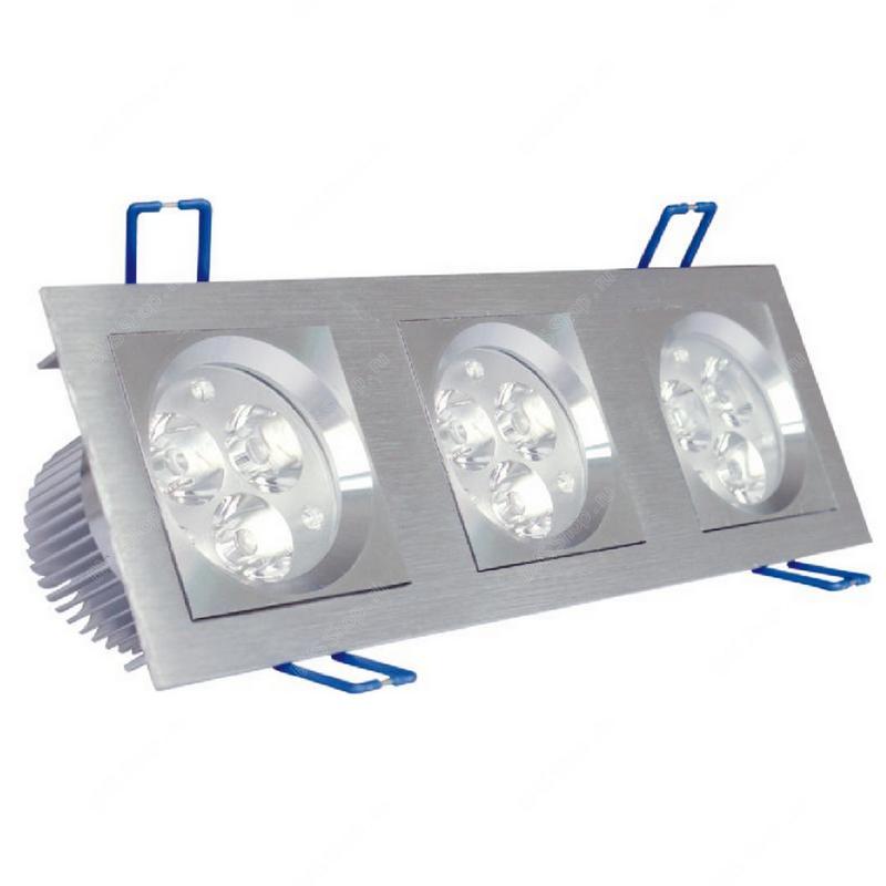 HDL 3X3X1 W LED потолочный светильник для внутреннего использования