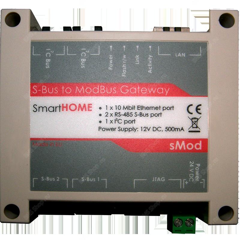 Шлюз из HDL-BUS в шину ModBus/ UDP/ TCP 502