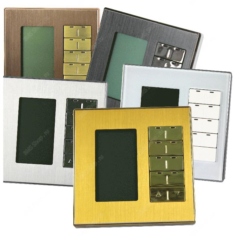 Сменные стеклянные рамки для клавишных, сенсорных и DLP панелей.