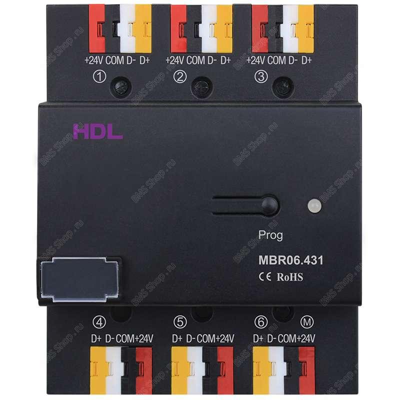HDL Свитч на 6 портов