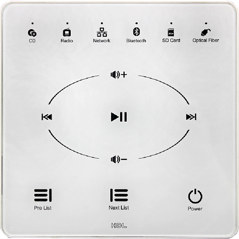 Новый музыкальный сетевой плеер HDL