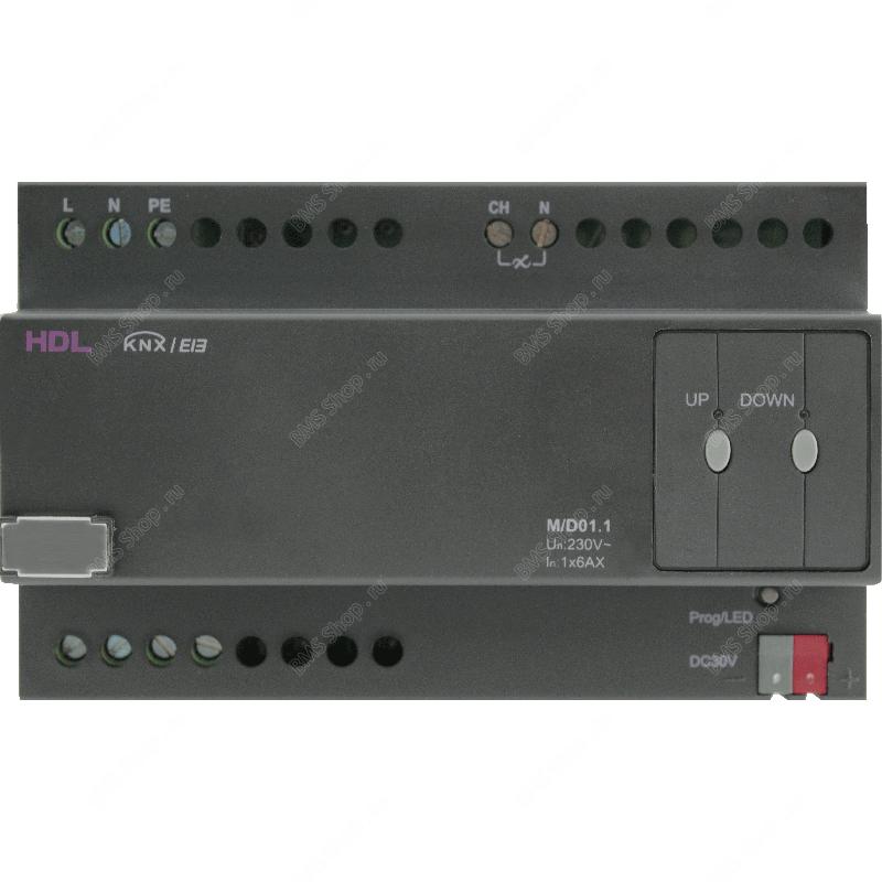 Универсальный диммер 1-канальный, 6А на канал