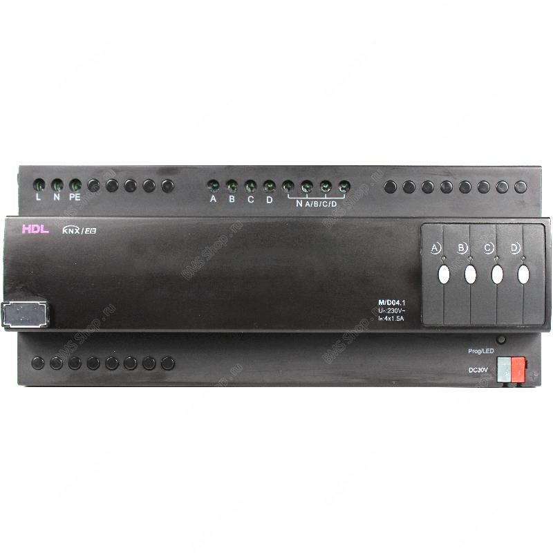 Универсальный диммер 4-канальный, 1,5А на канал