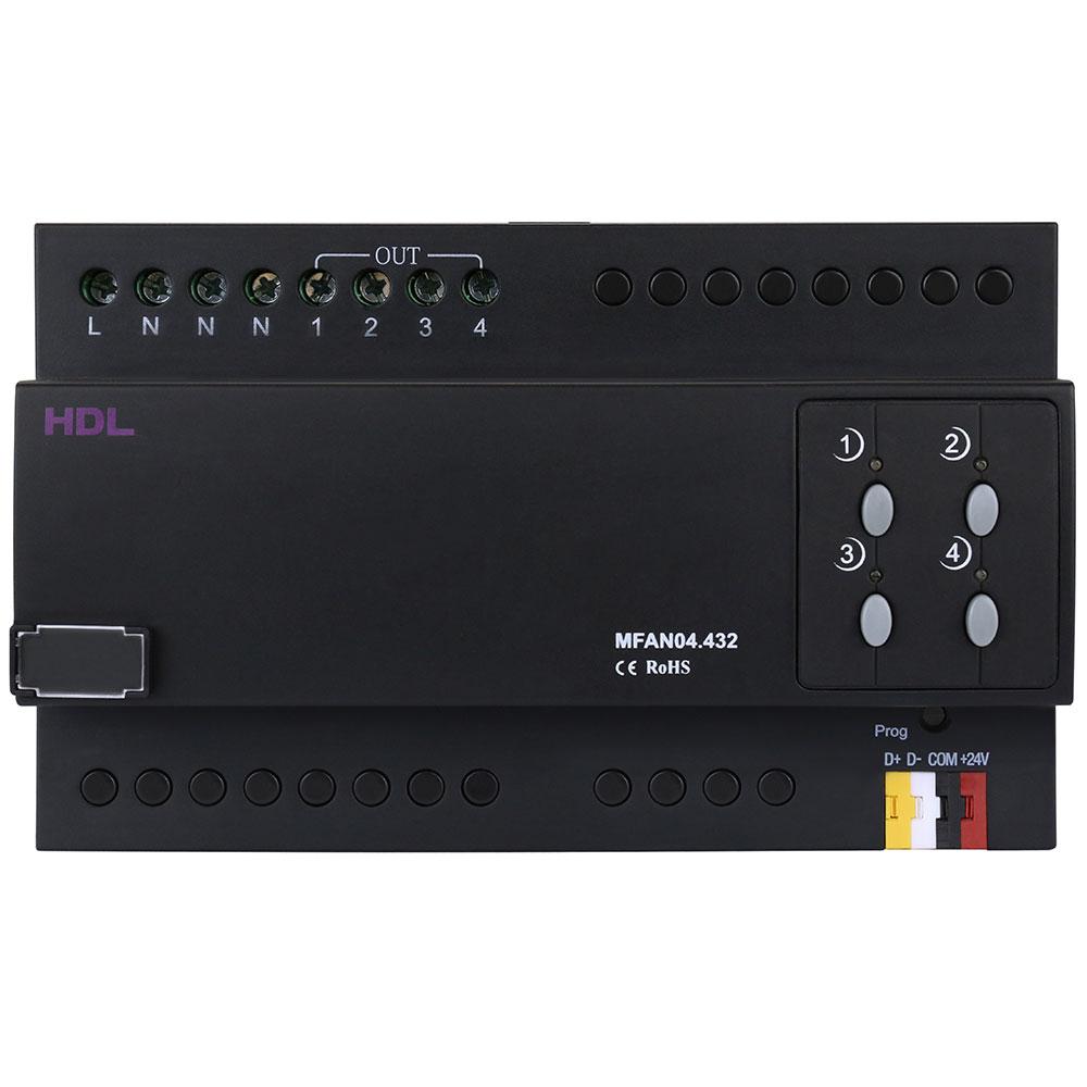 Модуль управления вентилятором, 4 канала