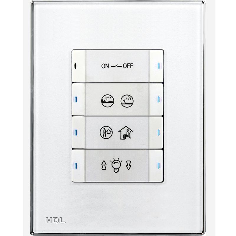 8 клавишная панель со сменными этикетками, US/AU стандарт