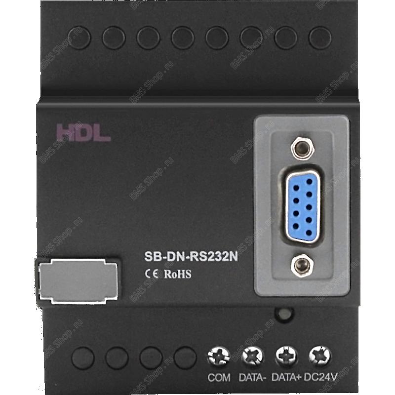 Шлюз на DIN рейку для интеграции c протоколам RS232/485