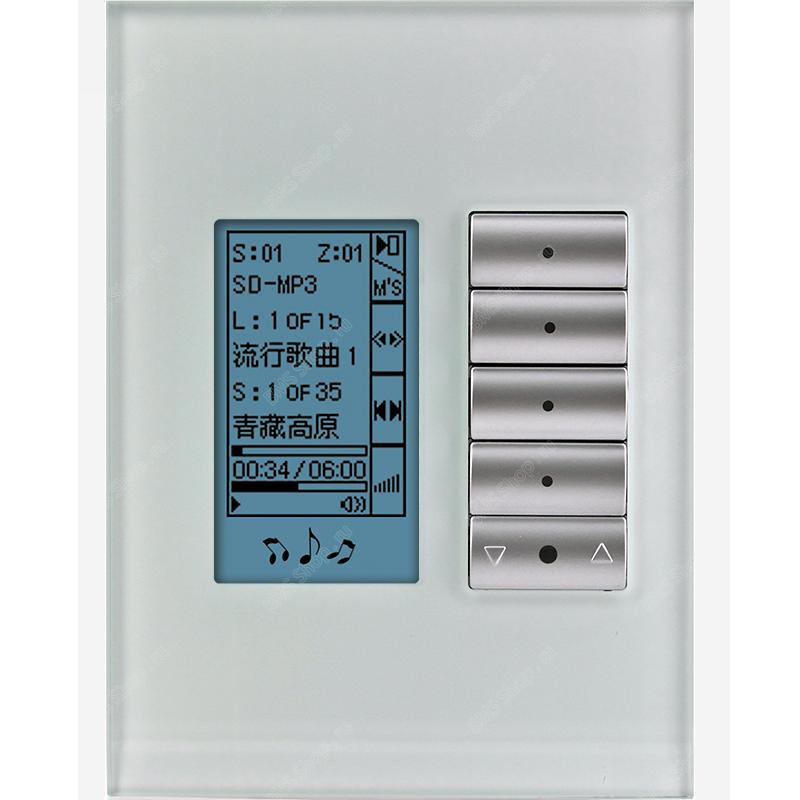 Клавишная настенная панель с экраном DLP US/AU стандарта