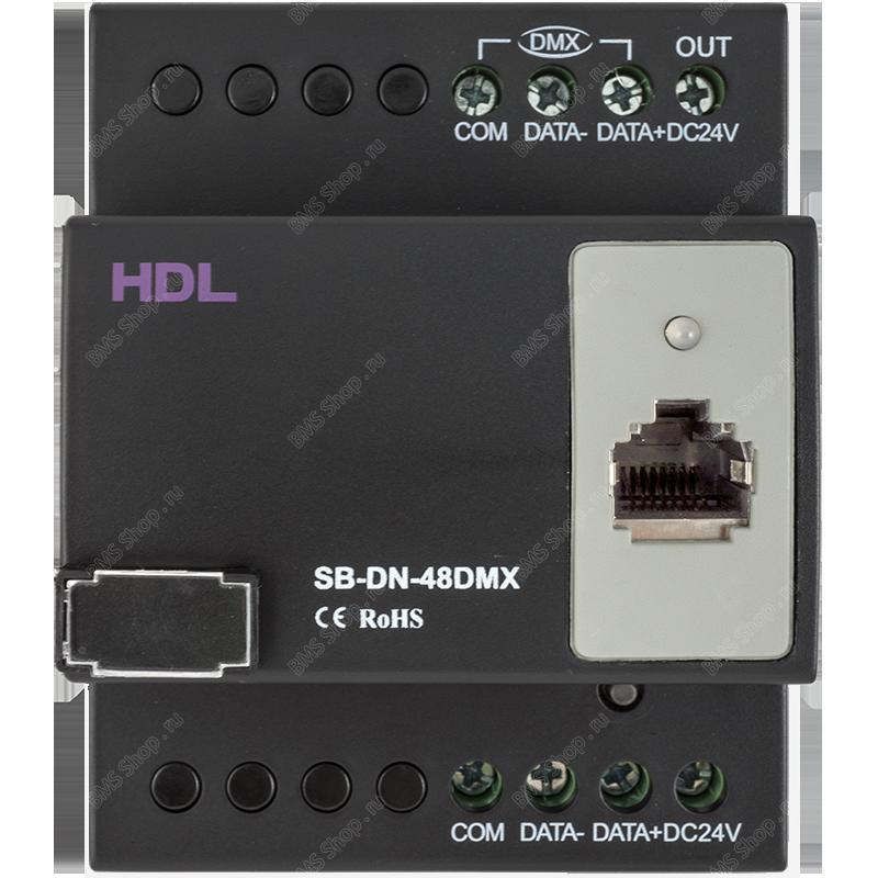 48-канальный DMX контроллер сцен с Ethernet портом