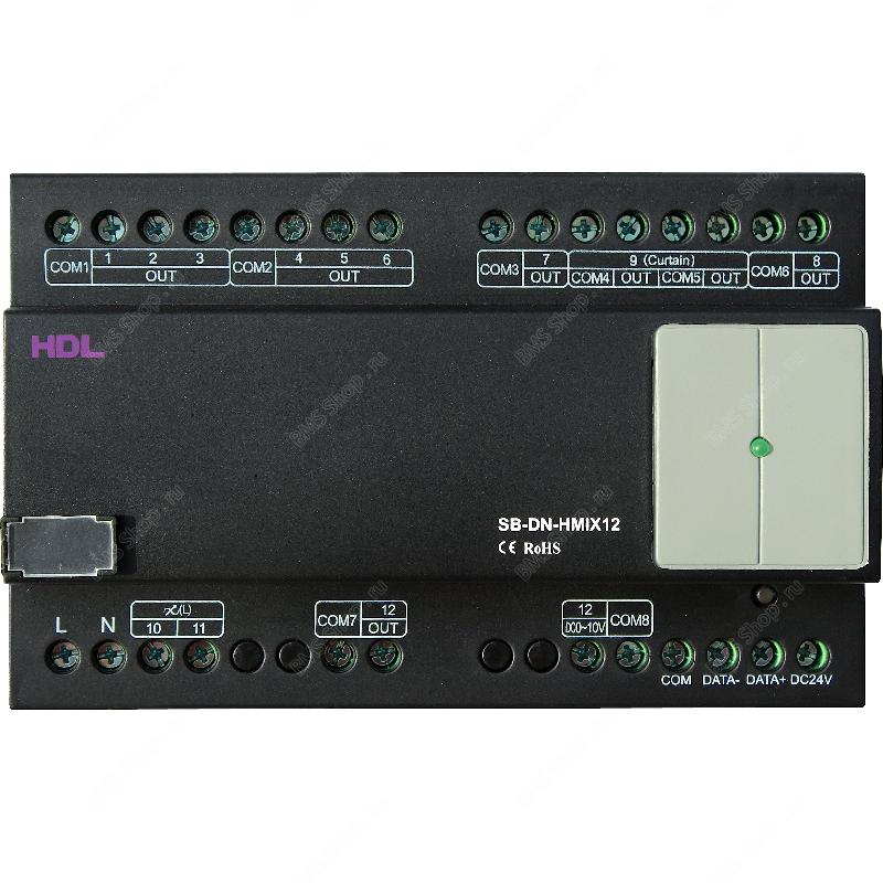 12-канальный микс контроллер на DIN рейку